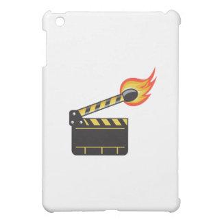 Clapper Board Match Stick On Fire Retro Case For The iPad Mini