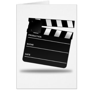 Clapperboard Cards