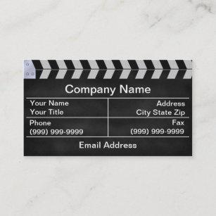 9246f6c356fe clapperboard cinema business card