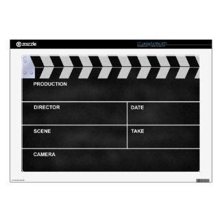 clapperboard cinema laptop decal