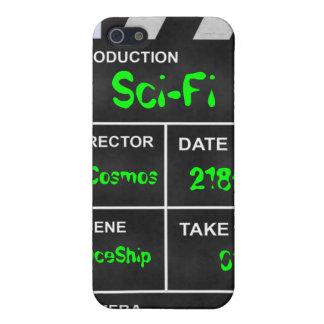 """clapperboard cinema """"Sci-Fi"""" iPhone SE/5/5s Cover"""