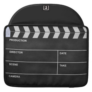 clapperboard cinema sleeve for MacBook pro