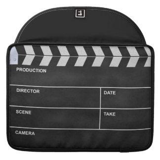 clapperboard cinema sleeve for MacBooks