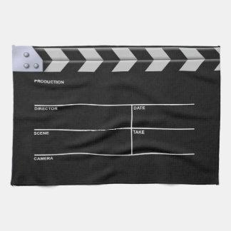 Clapperboard Cinema Towel