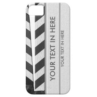 Clapperboard iPhone 5 case - with your text