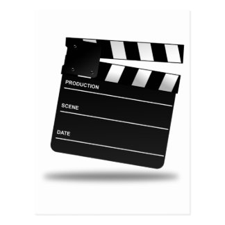 Clapperboard Post Card