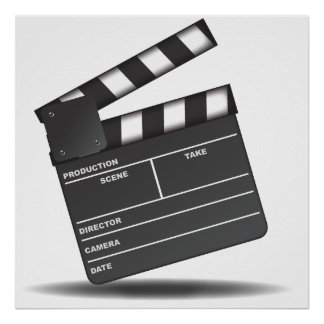 Clapperboard Poster
