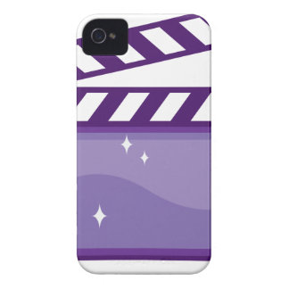 ClapperMovieVector.pdf iPhone 4 Case-Mate Carcasa