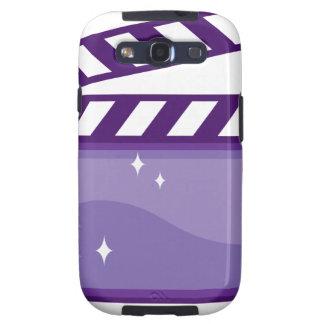 ClapperMovieVector.pdf Galaxy S3 Fundas