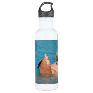 Clapping Walrus 24oz Water Bottle