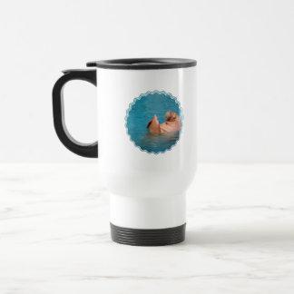 Clapping Walrus  Travel Mug