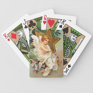 Clapsaddle: Ángel del navidad Baraja Cartas De Poker