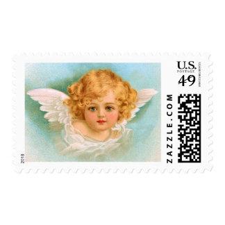 Clapsaddle: Ángel encantador del navidad Estampilla