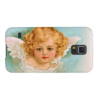 Clapsaddle: Ángel encantador del navidad Funda Galaxy S5