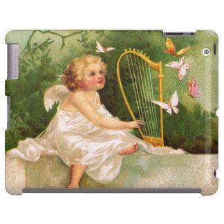 Clapsaddle Angel Playing Harp