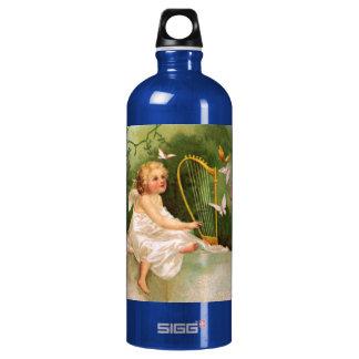 Clapsaddle: Angel Playing Harp SIGG Traveler 1.0L Water Bottle