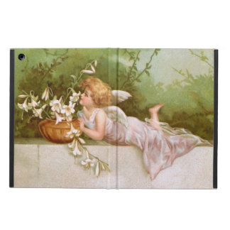 Clapsaddle: Angel with Lilies Cover For iPad Air
