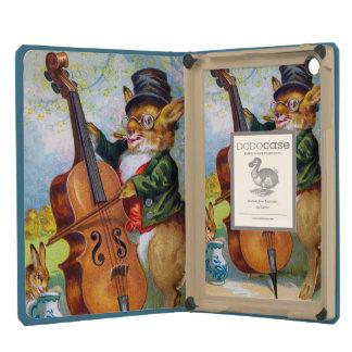 Clapsaddle: Bunny with Cello iPad Mini Cases