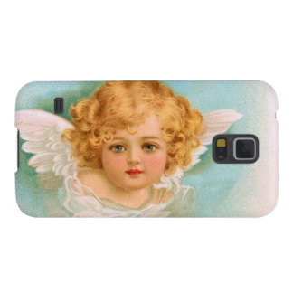 Clapsaddle: Charming Christmas Angel Galaxy S5 Case