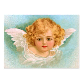 Clapsaddle: Charming Christmas Angel Large Business Card