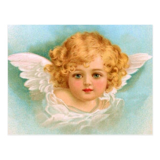 Clapsaddle: Charming Christmas Angel Postcard