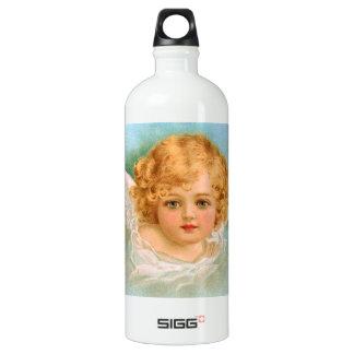 Clapsaddle: Charming Christmas Angel SIGG Traveler 1.0L Water Bottle