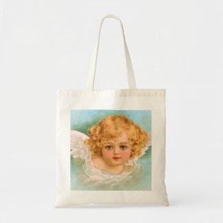 Clapsaddle: Charming Christmas Angel Tote Bag