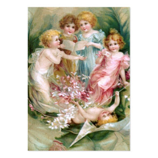 Clapsaddle: Charming Fairies 2 Large Business Card
