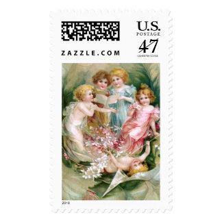 Clapsaddle: Charming Fairies 2 Postage