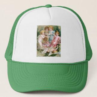 Clapsaddle: Charming Fairies 2 Trucker Hat