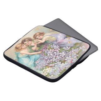 Clapsaddle: Charming Fairies Computer Sleeve
