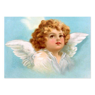 Clapsaddle: Charming New Year Angel Large Business Card