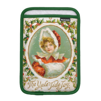 Clapsaddle: Charming Winter Girl iPad Mini Sleeves