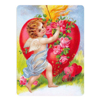 Clapsaddle: Cherub of Love Card