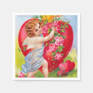 Clapsaddle: Cherub of Love Paper Napkin