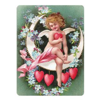 Clapsaddle: Cherub on a Sickle Moon 1 Card