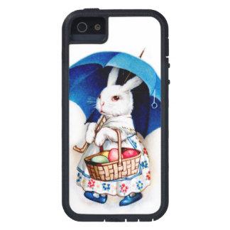 Clapsaddle: Chica de conejito de pascua con el iPhone 5 Cárcasa