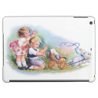 Clapsaddle: Children Playing with Bunny iPad Air Cover