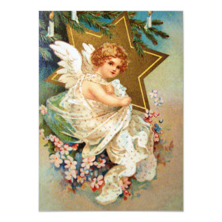Clapsaddle: Christmas Angel Card