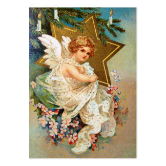 Clapsaddle: Christmas Angel Large Business Card
