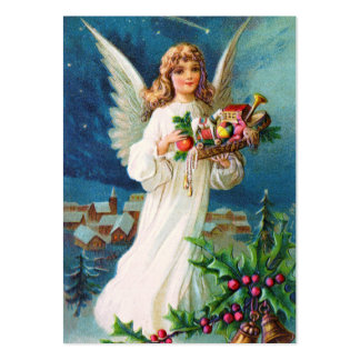 Clapsaddle: Christmas Angel with Toys Large Business Card