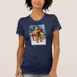 Clapsaddle: Christmas Shopping Tee Shirts