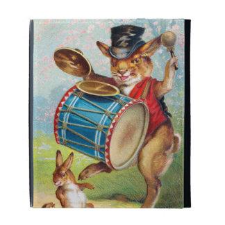 Clapsaddle: Drumming Rabbit iPad Cases