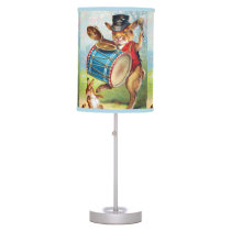 Clapsaddle: Drumming Rabbit Table Lamp