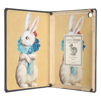Clapsaddle: Easter Bunny Girl with Ruff iPad Air Cover