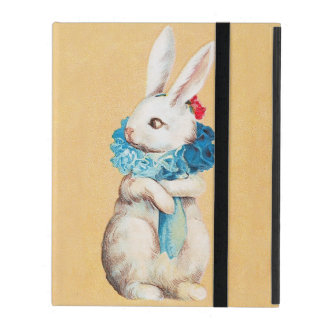 Clapsaddle: Easter Bunny Girl with Ruff iPad Cover