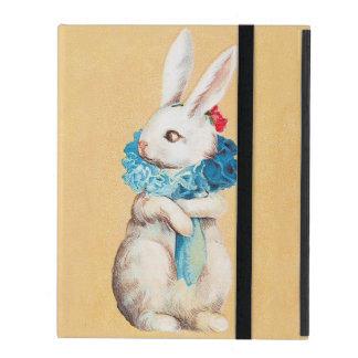 Clapsaddle: Easter Bunny Girl with Ruff iPad Folio Case