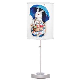 vintage easter bunny table pendant lamps zazzle. Black Bedroom Furniture Sets. Home Design Ideas