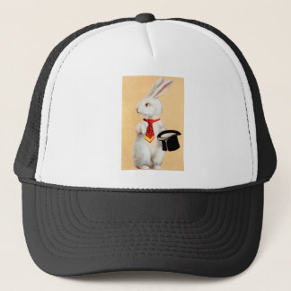 Clapsaddle: Easter Bunny with Tie Trucker Hat