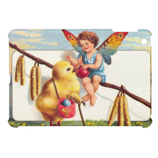 Clapsaddle: Easter Fairy with Chicken iPad Mini Cases